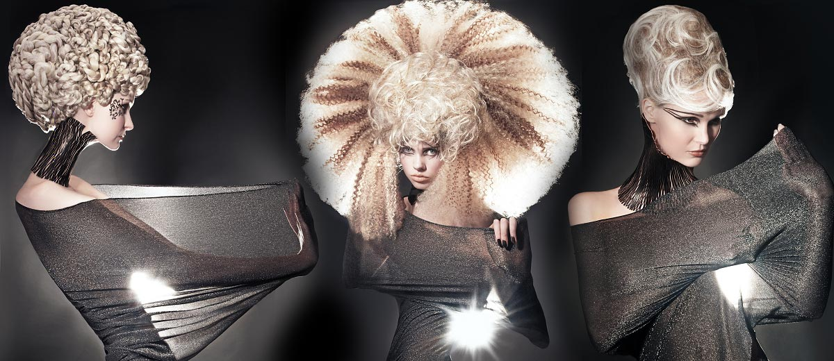 Avant-garde hairstyles aren't just for fun. They can be inspirative when you are looking for noticeable hairstyles like ball hairstyles or wedding hairstyles.