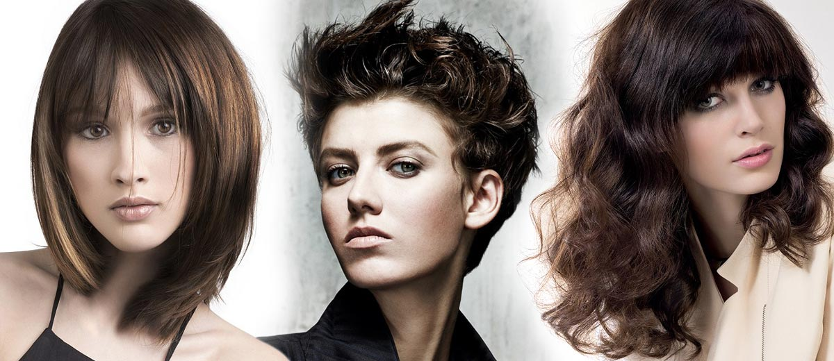 Brown hair is not boring. It has a lot of shades and you can do magic with their haircuts. Brunettes prick up - we have a big photo gallery for you!