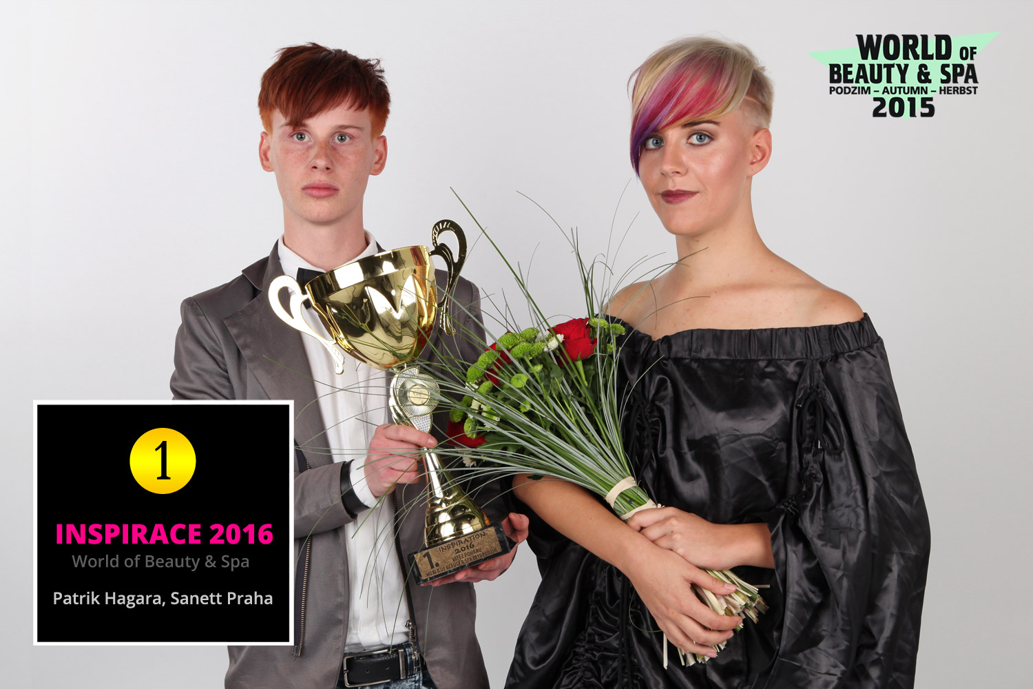 World of Beauty & Spa – Inspiration 2016: 1st place Patrik Hagara, Sanett