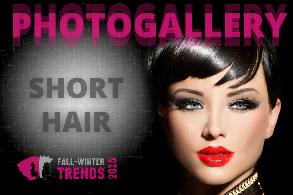 Hairstyles for short hair for fall/winter 2015/2016 are here! Be inspired by big photogallery with new hairstyle trends!