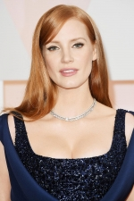 Formal hairstyles 2016: Jessica Chastain