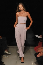 Rose Quartz and Serenity - Color of the year 2016 and fashion: Brandon Maxwell - Spring/ Summer 2016