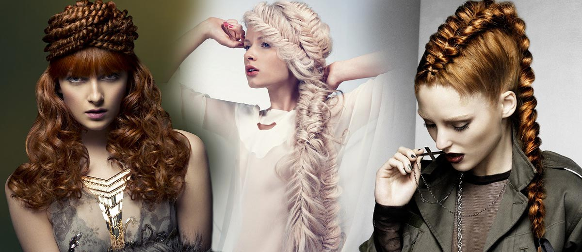 Are you looking for hairstyles with plaits or plaited buns? Our big gallery of hairstyles presents you plaits in casual and formal hairstyles.