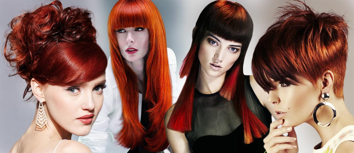 Red hair – the most favourite colour of hair right after blond. Which shade and which haircut choose? Let yourselves inspire in our gallery.
