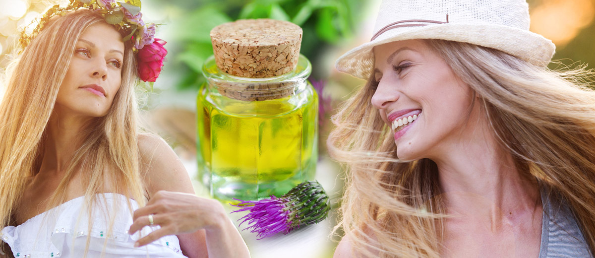 Well-known Czech herbal lady Jarmila Podhorna from the company Nadeje (Hope) can get your hair, complexion and nails regenerated just with the power of nature after summer.