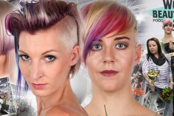 "Traditional hairdressing competition World of Beauty & Spa – Inspiration 2016 have its winners. Hairstyles are beautifully colourful this time – the theme was ""a colour for haircuts""!"