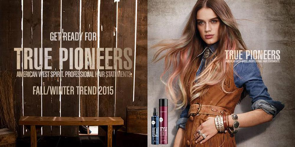 Hairstyle for women from Matrix 2015 True Pioneers.