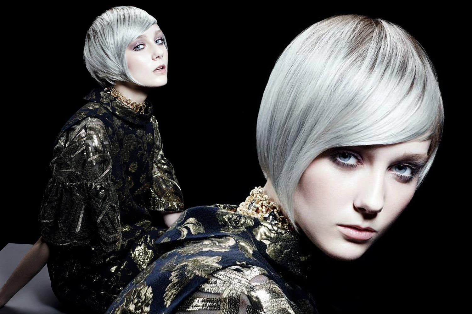 Silver bob from collection Framesi fall/winter 2015/2016 – Handmade 2.0.