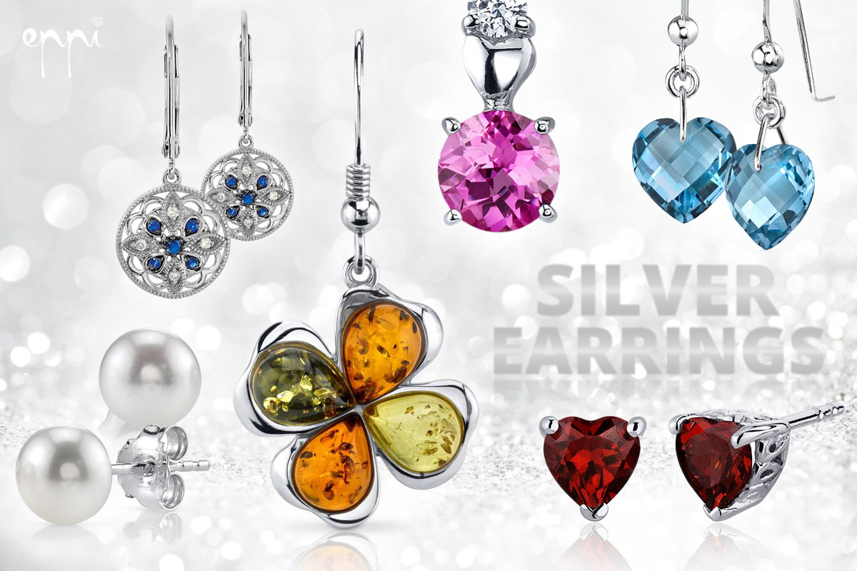 Silver earrings are cheaper jewelry that you can enjoy anytime perhaps as a gift to herself. Beautiful models silver jewelry earrings offers Internet Eppi.cz.