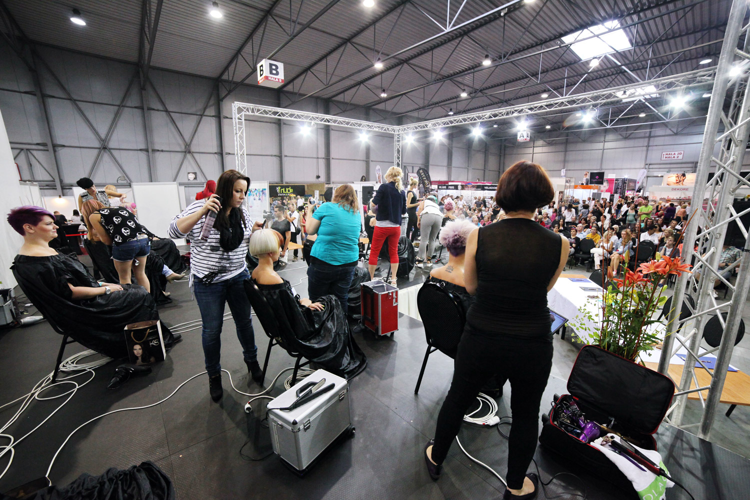 Atmosphere during the competition World of Beauty & Spa – Inspiration 2016.