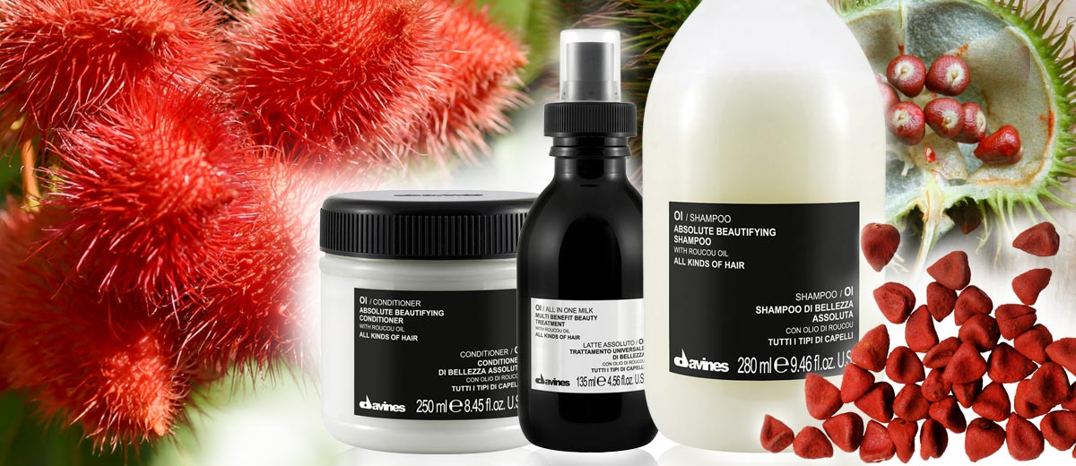 We tested Haircare Oi DAVINES with beautifying oils. See the test's results Oi shampoo, conditioner and hair lotion.