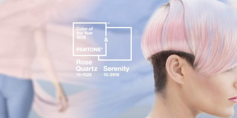 There is not only one color of the year 2016 – there are two TOP colors Pantone! There is pastel old pink, which is named Rose Quartz (13-1520) and pastel blue with a name Serenity (15-3919).