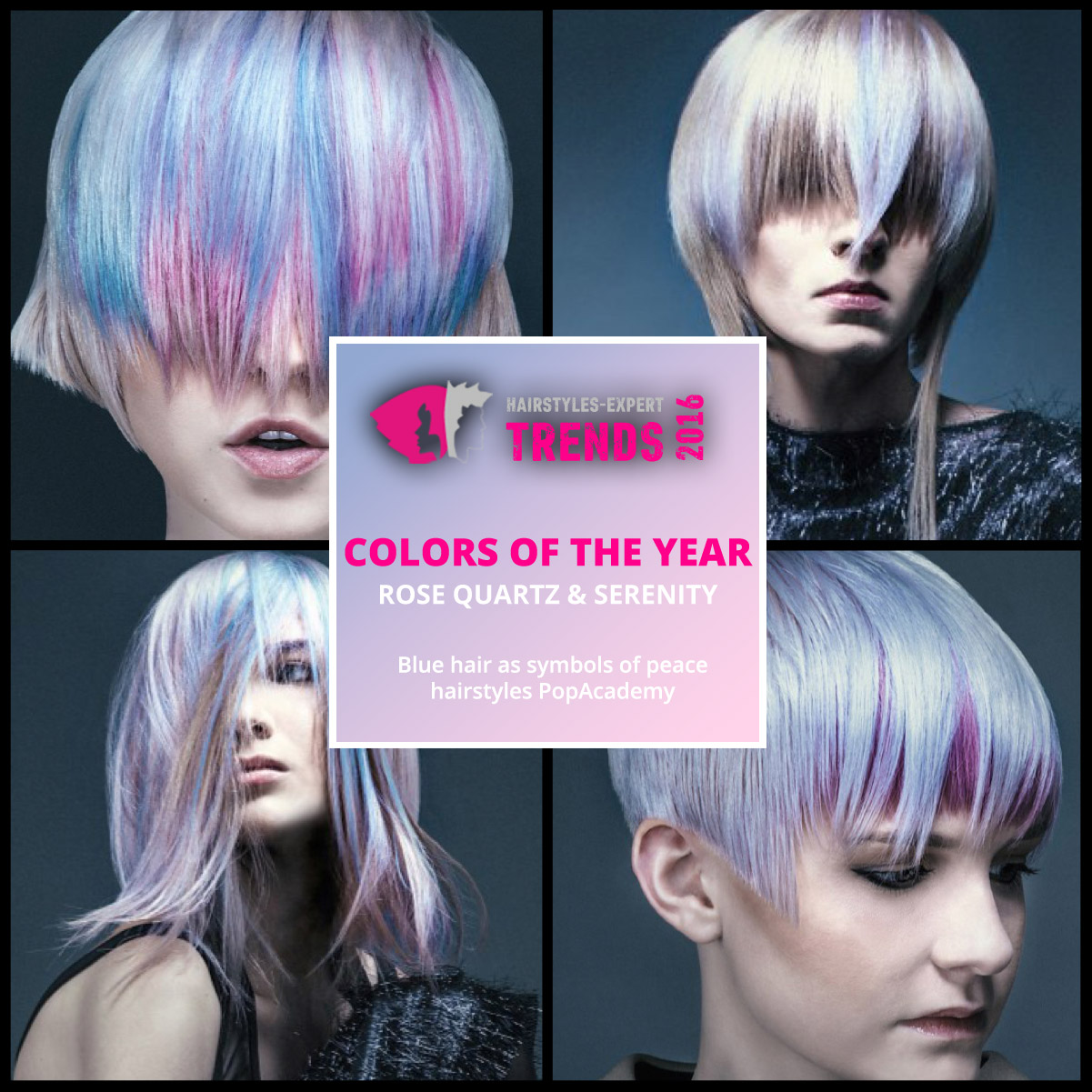 Rose quartz and serenity colors of the year 2016 in for Color of the year 2016