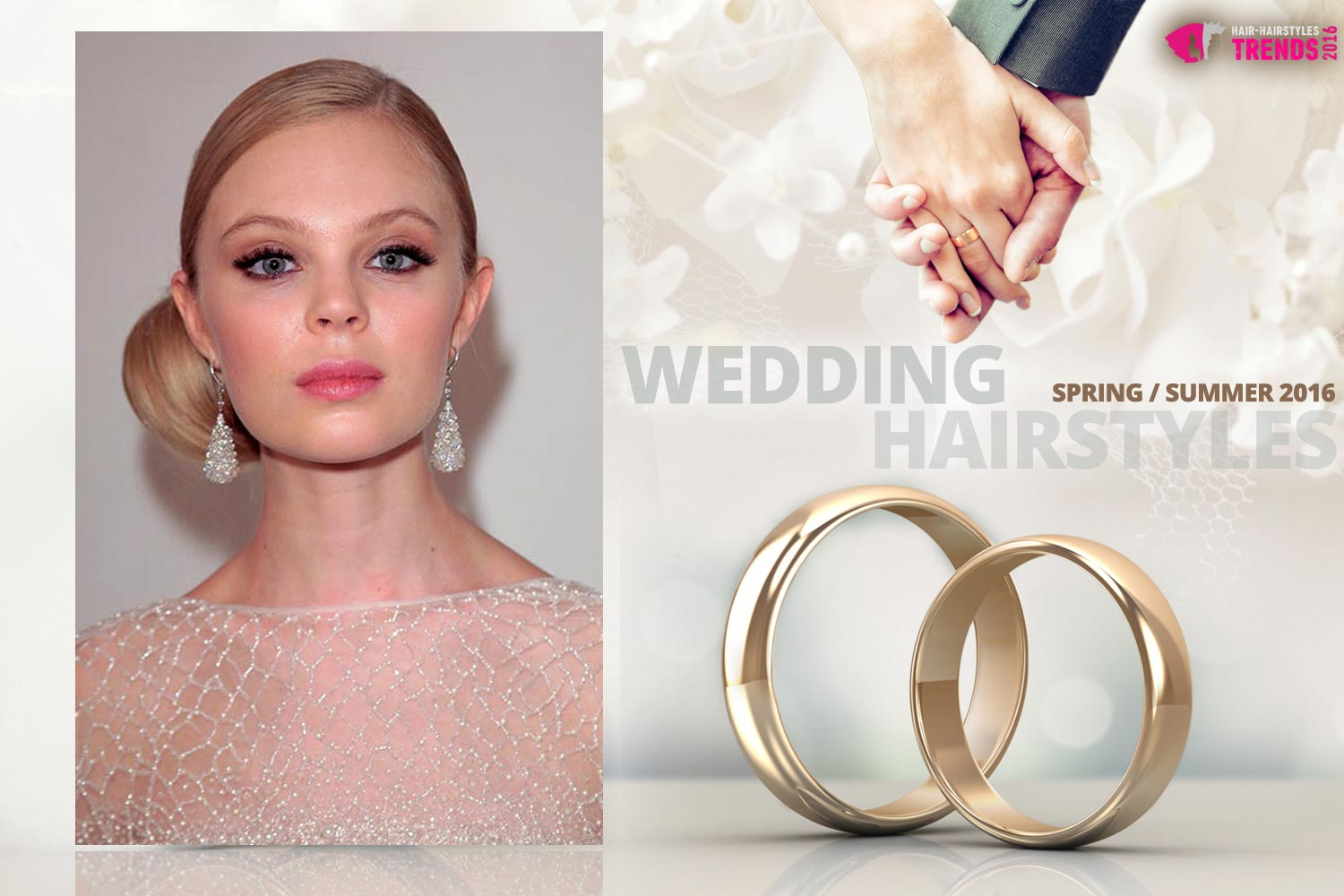 Wedding hairstyles Spring/Summer 2016 from the catwalks | HAIR ...