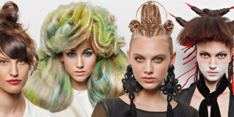 Czech artistic hairdressers associated in the prestigious Association of Haute Coiffure Française introduced a new original collection - EMOTIONS hairstyles spring and summer of 2016.