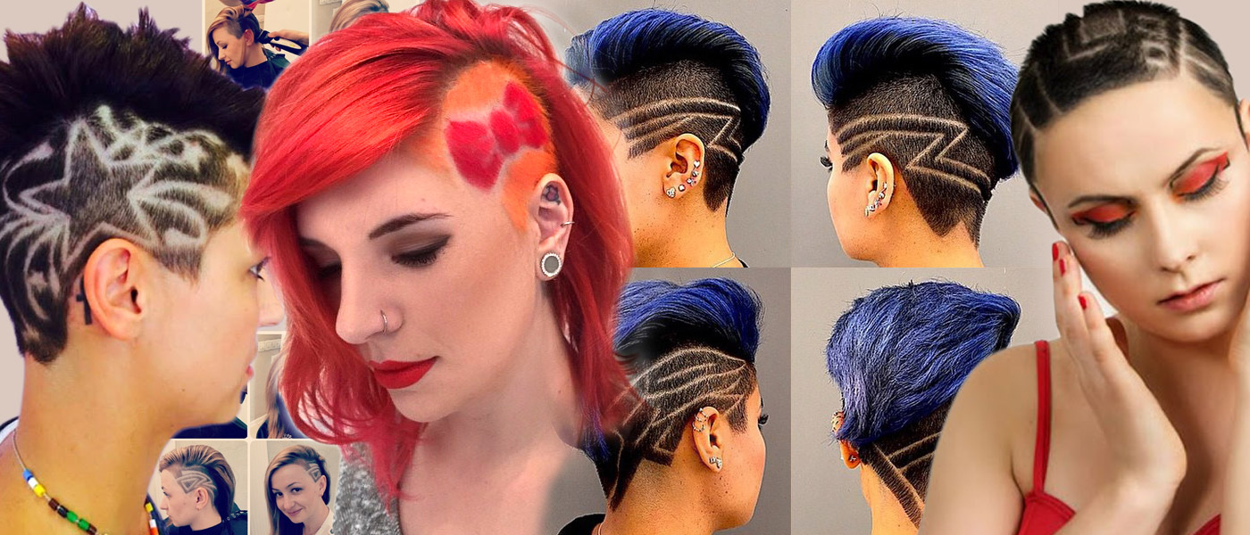 Don't be affraid of using a hair-shaver even if you do not want to go bald. Ladies' undercut hairstyles 2016 also called just undercut, are decorated now with tattoo.
